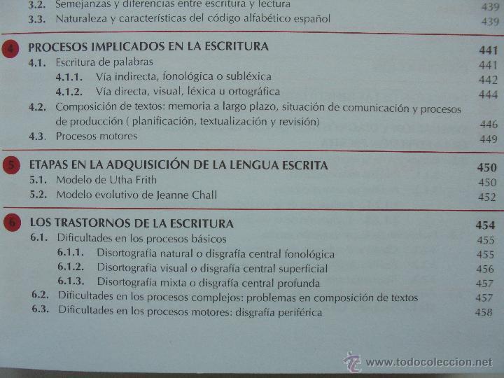 Libros de segunda mano: DIFICULTADES DE APRENDIZAJE E INTERVENCION PSICOPEDAGOGICA. TEORIA, PRACTICAS Y GUIA DIDACTICA. - Foto 45 - 53174855