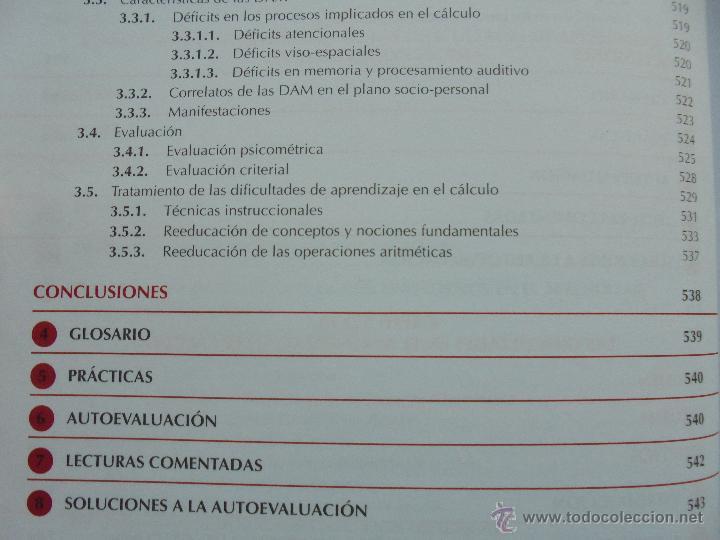 Libros de segunda mano: DIFICULTADES DE APRENDIZAJE E INTERVENCION PSICOPEDAGOGICA. TEORIA, PRACTICAS Y GUIA DIDACTICA. - Foto 51 - 53174855