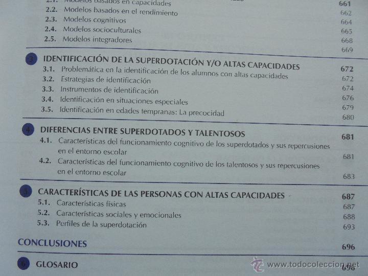Libros de segunda mano: DIFICULTADES DE APRENDIZAJE E INTERVENCION PSICOPEDAGOGICA. TEORIA, PRACTICAS Y GUIA DIDACTICA. - Foto 59 - 53174855