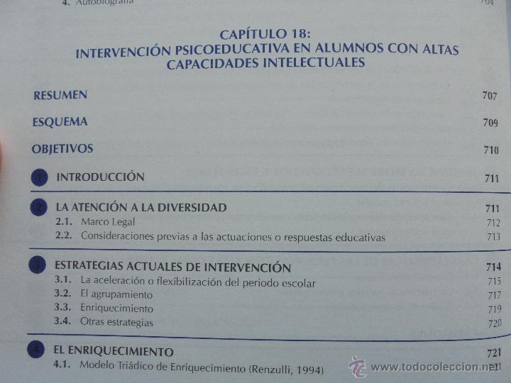 Libros de segunda mano: DIFICULTADES DE APRENDIZAJE E INTERVENCION PSICOPEDAGOGICA. TEORIA, PRACTICAS Y GUIA DIDACTICA. - Foto 61 - 53174855