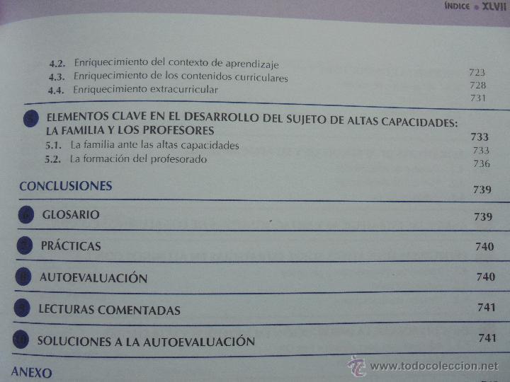 Libros de segunda mano: DIFICULTADES DE APRENDIZAJE E INTERVENCION PSICOPEDAGOGICA. TEORIA, PRACTICAS Y GUIA DIDACTICA. - Foto 62 - 53174855