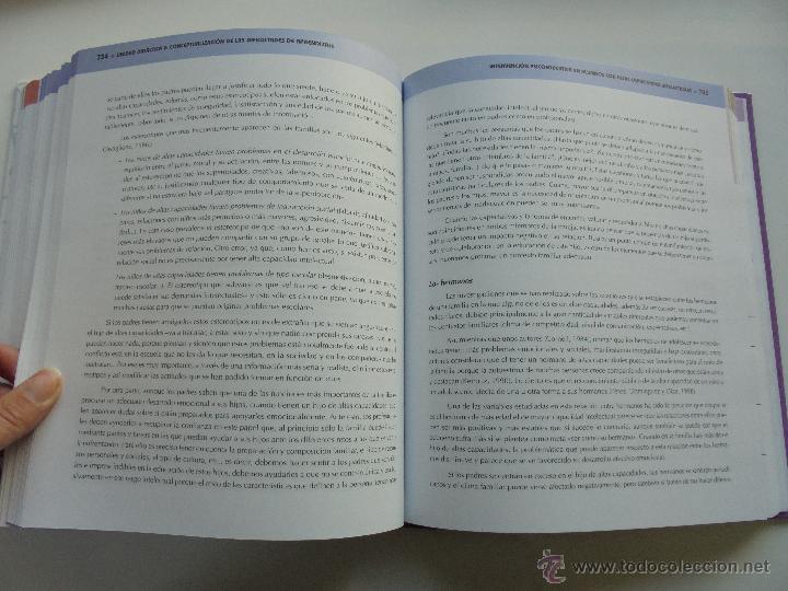 Libros de segunda mano: DIFICULTADES DE APRENDIZAJE E INTERVENCION PSICOPEDAGOGICA. TEORIA, PRACTICAS Y GUIA DIDACTICA. - Foto 70 - 53174855