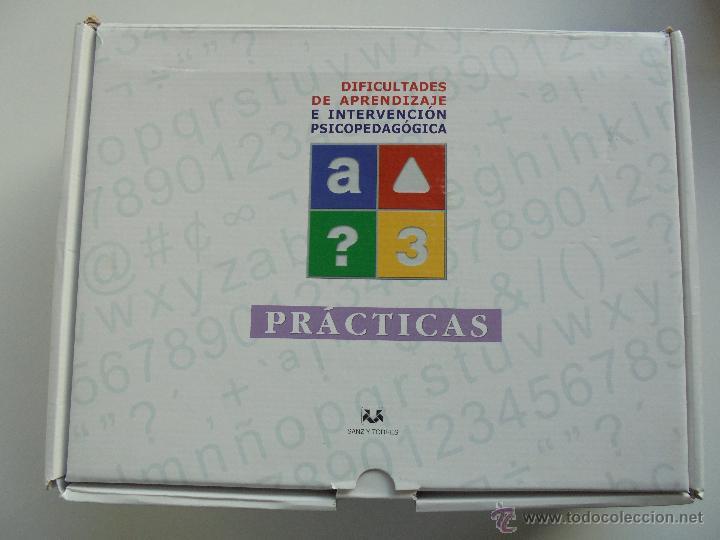 Libros de segunda mano: DIFICULTADES DE APRENDIZAJE E INTERVENCION PSICOPEDAGOGICA. TEORIA, PRACTICAS Y GUIA DIDACTICA. - Foto 72 - 53174855