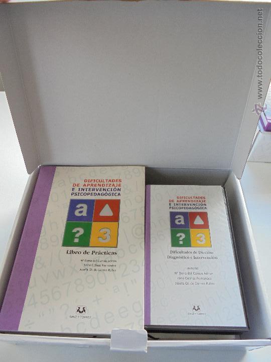 Libros de segunda mano: DIFICULTADES DE APRENDIZAJE E INTERVENCION PSICOPEDAGOGICA. TEORIA, PRACTICAS Y GUIA DIDACTICA. - Foto 73 - 53174855
