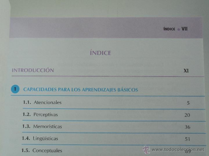 Libros de segunda mano: DIFICULTADES DE APRENDIZAJE E INTERVENCION PSICOPEDAGOGICA. TEORIA, PRACTICAS Y GUIA DIDACTICA. - Foto 79 - 53174855