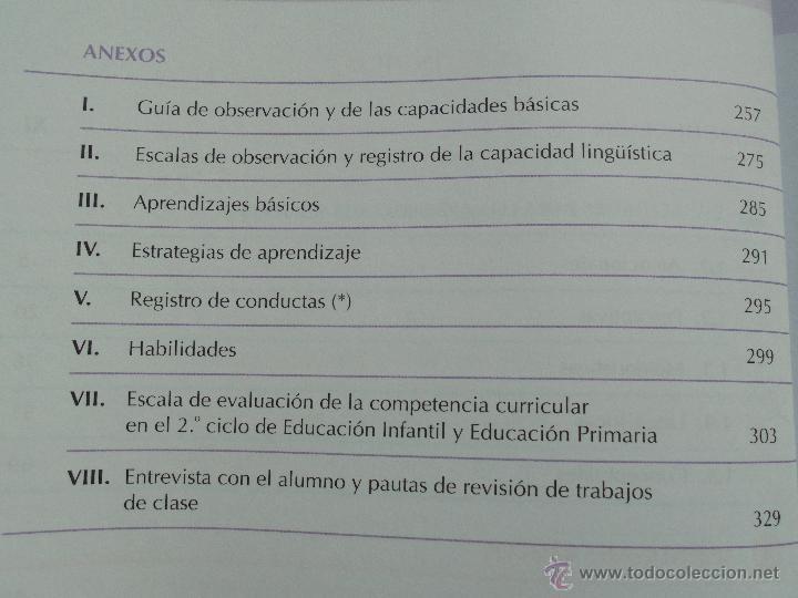 Libros de segunda mano: DIFICULTADES DE APRENDIZAJE E INTERVENCION PSICOPEDAGOGICA. TEORIA, PRACTICAS Y GUIA DIDACTICA. - Foto 81 - 53174855