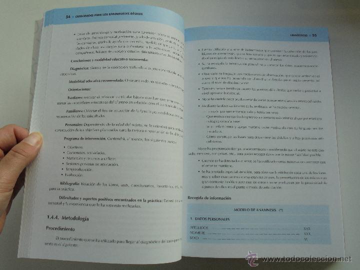 Libros de segunda mano: DIFICULTADES DE APRENDIZAJE E INTERVENCION PSICOPEDAGOGICA. TEORIA, PRACTICAS Y GUIA DIDACTICA. - Foto 82 - 53174855