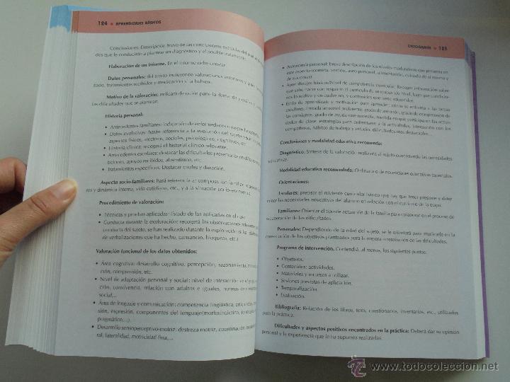 Libros de segunda mano: DIFICULTADES DE APRENDIZAJE E INTERVENCION PSICOPEDAGOGICA. TEORIA, PRACTICAS Y GUIA DIDACTICA. - Foto 83 - 53174855