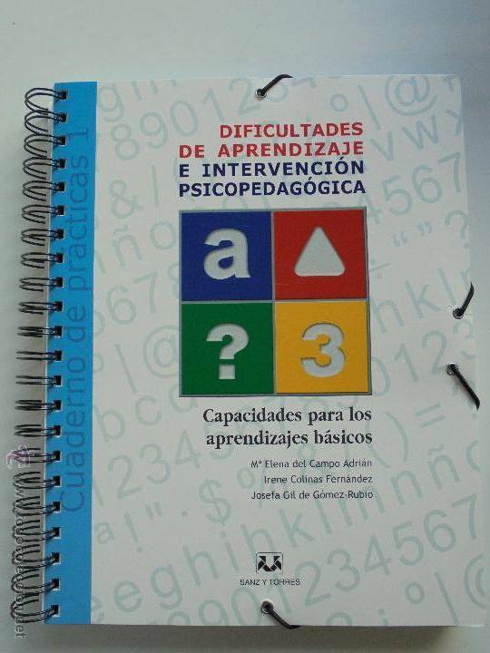 Libros de segunda mano: DIFICULTADES DE APRENDIZAJE E INTERVENCION PSICOPEDAGOGICA. TEORIA, PRACTICAS Y GUIA DIDACTICA. - Foto 86 - 53174855