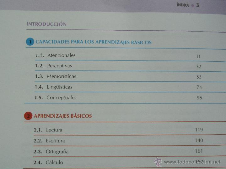 Libros de segunda mano: DIFICULTADES DE APRENDIZAJE E INTERVENCION PSICOPEDAGOGICA. TEORIA, PRACTICAS Y GUIA DIDACTICA. - Foto 87 - 53174855