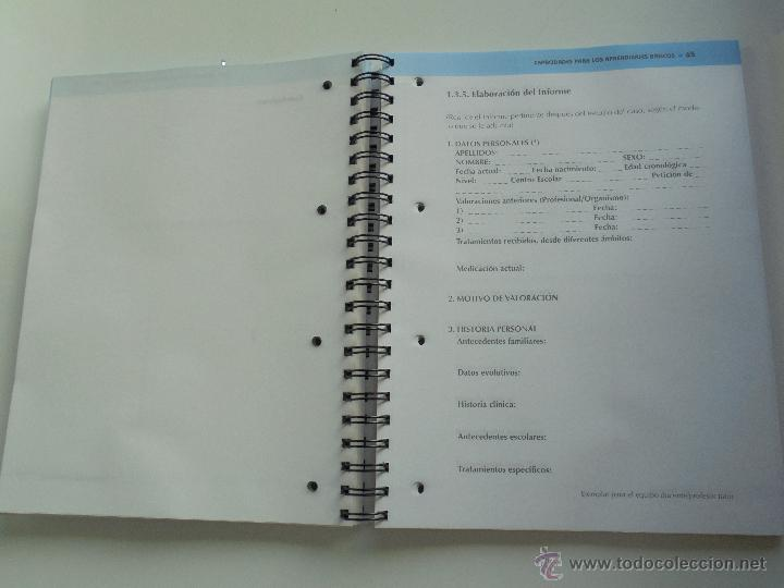 Libros de segunda mano: DIFICULTADES DE APRENDIZAJE E INTERVENCION PSICOPEDAGOGICA. TEORIA, PRACTICAS Y GUIA DIDACTICA. - Foto 90 - 53174855