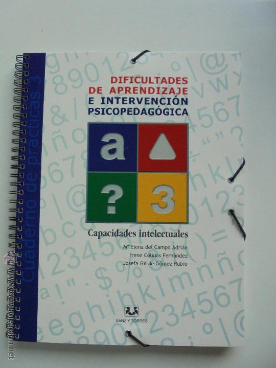 Libros de segunda mano: DIFICULTADES DE APRENDIZAJE E INTERVENCION PSICOPEDAGOGICA. TEORIA, PRACTICAS Y GUIA DIDACTICA. - Foto 91 - 53174855