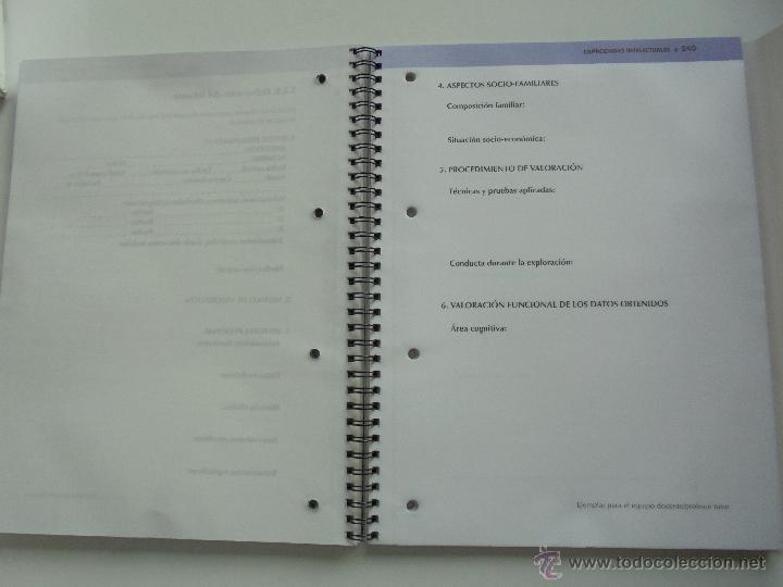 Libros de segunda mano: DIFICULTADES DE APRENDIZAJE E INTERVENCION PSICOPEDAGOGICA. TEORIA, PRACTICAS Y GUIA DIDACTICA. - Foto 94 - 53174855