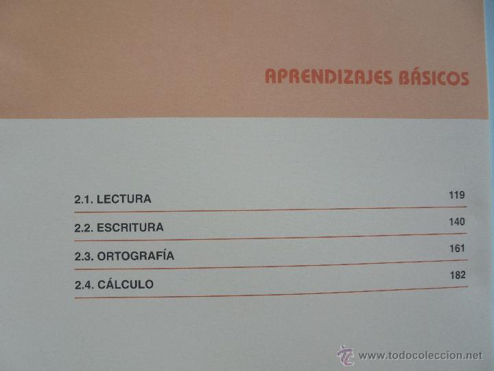 Libros de segunda mano: DIFICULTADES DE APRENDIZAJE E INTERVENCION PSICOPEDAGOGICA. TEORIA, PRACTICAS Y GUIA DIDACTICA. - Foto 96 - 53174855