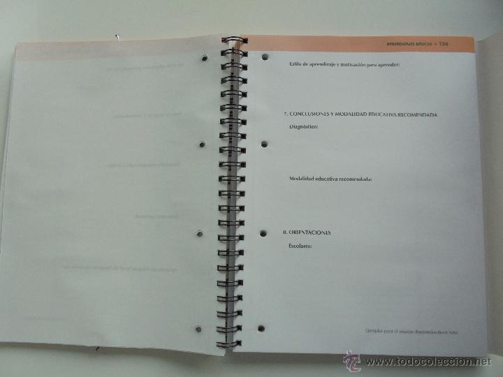 Libros de segunda mano: DIFICULTADES DE APRENDIZAJE E INTERVENCION PSICOPEDAGOGICA. TEORIA, PRACTICAS Y GUIA DIDACTICA. - Foto 97 - 53174855