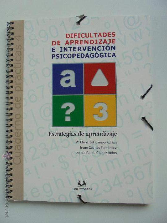 Libros de segunda mano: DIFICULTADES DE APRENDIZAJE E INTERVENCION PSICOPEDAGOGICA. TEORIA, PRACTICAS Y GUIA DIDACTICA. - Foto 99 - 53174855