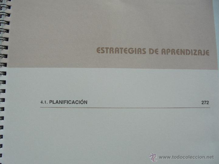 Libros de segunda mano: DIFICULTADES DE APRENDIZAJE E INTERVENCION PSICOPEDAGOGICA. TEORIA, PRACTICAS Y GUIA DIDACTICA. - Foto 100 - 53174855