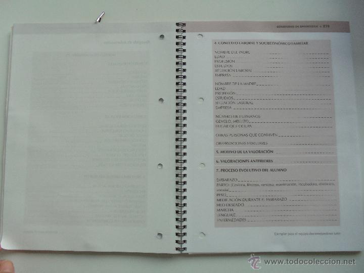 Libros de segunda mano: DIFICULTADES DE APRENDIZAJE E INTERVENCION PSICOPEDAGOGICA. TEORIA, PRACTICAS Y GUIA DIDACTICA. - Foto 101 - 53174855