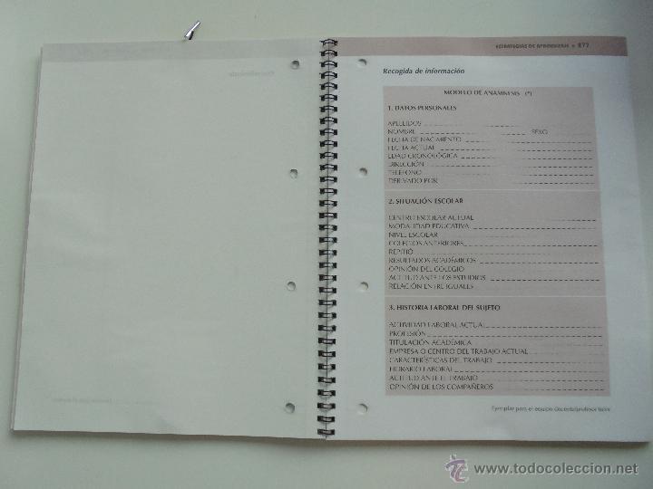 Libros de segunda mano: DIFICULTADES DE APRENDIZAJE E INTERVENCION PSICOPEDAGOGICA. TEORIA, PRACTICAS Y GUIA DIDACTICA. - Foto 102 - 53174855