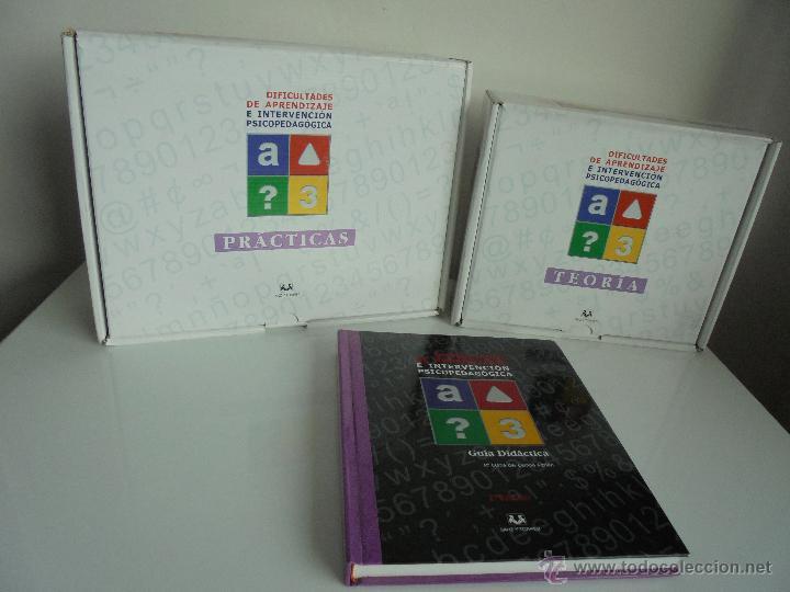 Libros de segunda mano: DIFICULTADES DE APRENDIZAJE E INTERVENCION PSICOPEDAGOGICA. TEORIA, PRACTICAS Y GUIA DIDACTICA. - Foto 103 - 53174855