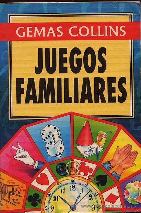 JUEGOS FAMILIARES - GEMAS COLLINS - AÑO 1996 (Libros de Segunda Mano - Ciencias, Manuales y Oficios - Pedagogía)