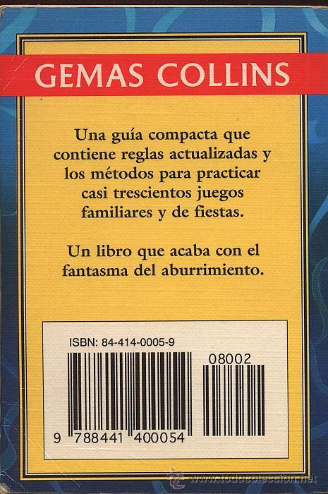 Libros de segunda mano: JUEGOS FAMILIARES - GEMAS COLLINS - AÑO 1996 - Foto 2 - 53262552