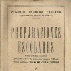 Libros de segunda mano: PREPARACIONES ESCOLARES. Lote 56640334
