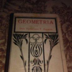 Libros de segunda mano: GEOMETRIA- CON APLICACION AL DIBUJO Y AGRIMENSURA. Lote 57106822