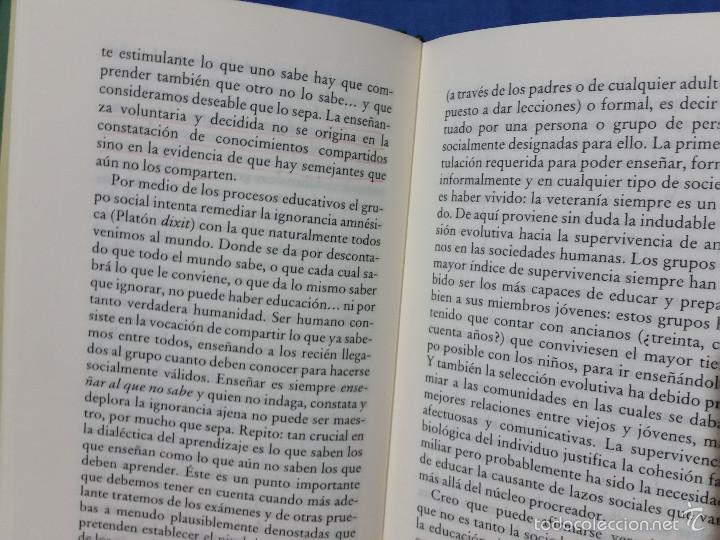 Libros de segunda mano: El Valor de Educar - 1997 - Fernando Savater - Tapa Dura - Ed. Círculo de Lectores - ISBN 8422668262 - Foto 4 - 113617919