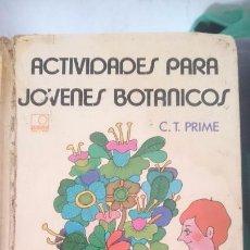 Libros de segunda mano: ACTIVIDADES PARA JOVENES BOTANICOS ---- REFM1E2. Lote 57583755