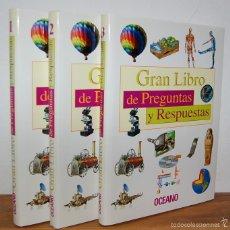 Libros de segunda mano: GRAN LIBRO DE PREGUNTAS Y RESPUESTAS (3 VOL.). Lote 57717115
