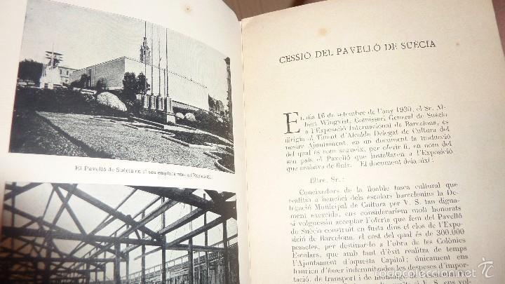 PROGRAMA FOLLETO INAUGURACIO DE LES OBRES DE LA COLONIA ESCOLAR PERMANENT DE BERGA . FOTO 1932 (Libros de Segunda Mano - Ciencias, Manuales y Oficios - Pedagogía)