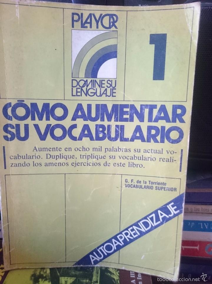 COMO AUMENTAR SU VOCABULARIO (Libros de Segunda Mano - Ciencias, Manuales y Oficios - Pedagogía)