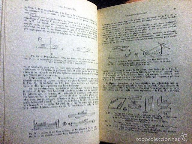 Libros de segunda mano: Riu : Geometría y trigonometría industrial. (1958). Ilustraciones. Gráficos. - Foto 3 - 58663689