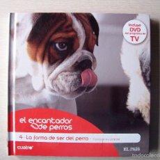 Libros de segunda mano: EL ENCANTADOR DE PERROS LIBRO CON DVD NUMERO 4. Lote 59075930