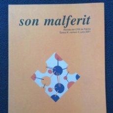Libros de segunda mano: SON MALFERIT REVISTA DEL CPR PALMA, ARACELI MATAS. Lote 59519095