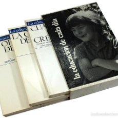 Libros de segunda mano: LA EDUCACION DE CADA DIA, EDITORIAL NOVA TERRA 1971, 3 TOMOS. Lote 61097239