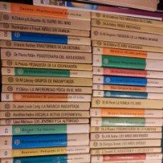 Libros de segunda mano: BIBLIOTECA PRÁCTICA DE PEDAGOGÍA, PSICOLOGÍA Y PSICOPATOLOGÍA INFANTIL - LOTE 47 LIBROS - PLANETA. Lote 61537012