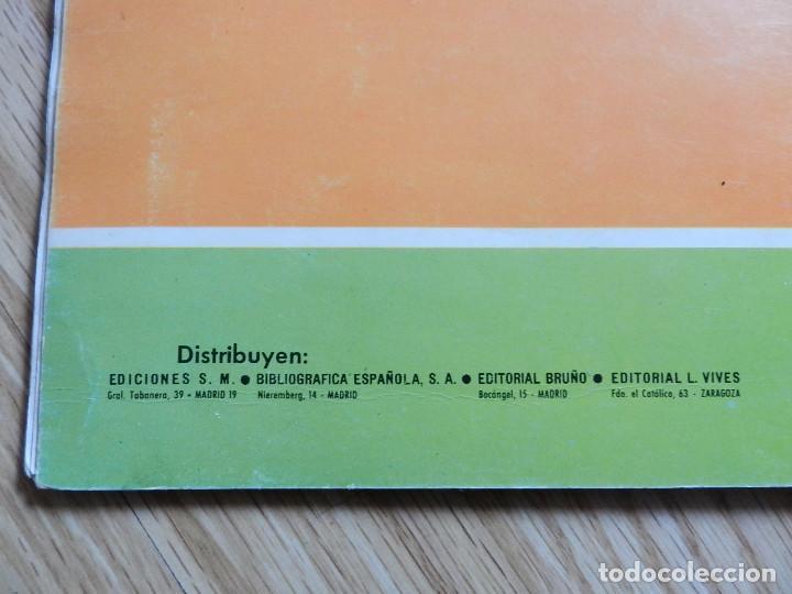 Libros de segunda mano: Trabajos manuales Ediciones S.M. 3º tercero Plan 1967 año 1970 Bruño Vives SM libro texto - Foto 3 - 65939098