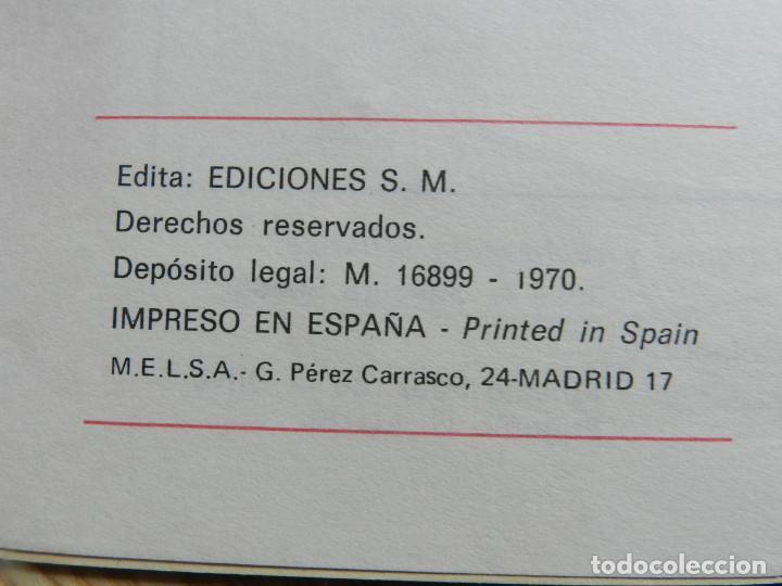 Libros de segunda mano: Trabajos manuales Ediciones S.M. 3º tercero Plan 1967 año 1970 Bruño Vives SM libro texto - Foto 6 - 65939098