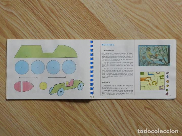 Libros de segunda mano: Trabajos manuales Ediciones S.M. 3º tercero Plan 1967 año 1970 Bruño Vives SM libro texto - Foto 9 - 65939098