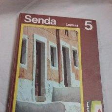 Libros de segunda mano: LIBRO DE LECTURA SENDA 5 EDICIONES SANTILLANA AÑO 1971 . Lote 71688111