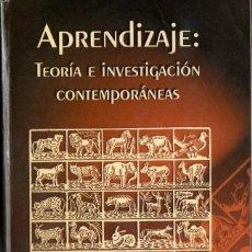 Libros de segunda mano: ROGER TARPY : APRENDIZAJE - TEORÍA E INVESTIGACIÓN CONTEMPORÁNEAS (MC GRAW HILL, 2000). Lote 71732179
