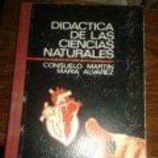 Libros de segunda mano: DIDACTICA DE LAS CIENCIAS NATURALES AÑO 1. 970 -PEDAGOGÍA. CONSUELO MARTIN-MARIA ALVAREZ -EDITORIAL. Lote 73611583