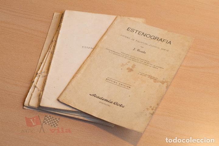 Libros de segunda mano: J. Boada - Estenografia - Academia Cots - 1937 - Foto 4 - 75300695