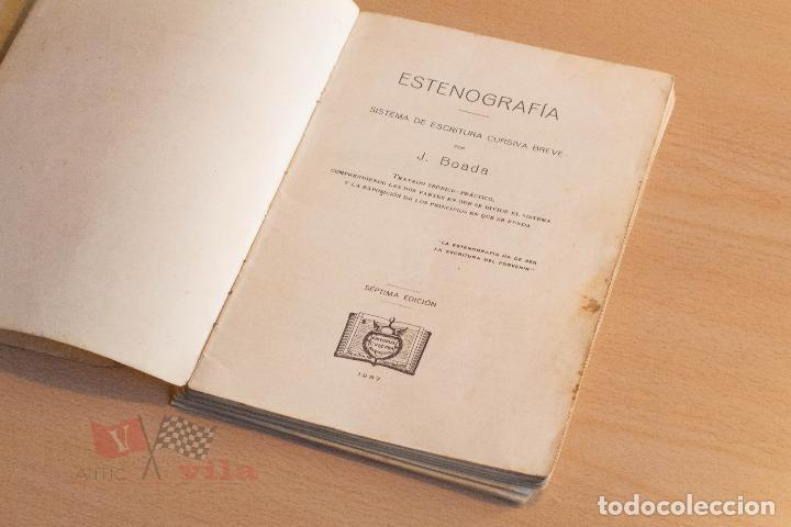 Libros de segunda mano: J. Boada - Estenografia - Academia Cots - 1937 - Foto 5 - 75300695
