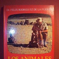 Libros de segunda mano: FELIX RODRIGUEZ DE LA FUENTE..LOS ANIMALES EN SU MEDIO AMBIENTE. REF-1AC. Lote 76577815