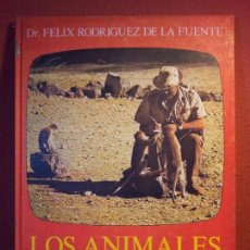Libros de segunda mano: FELIX RODRIGUEZ DE LA FUENTE..LOS ANIMALES EN SU MEDIO AMBIENTE. ~REF-1AC. Lote 76577879