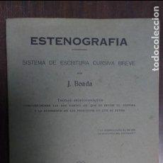 Gebrauchte Bücher - Estenografìa 1954 J. Boada Sistema de escritura cursiva breve - 78361433