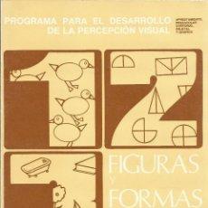 Libros de segunda mano: FIGURAS Y FORMAS, FROSTIG, GUIA DEL MAESTRO. Lote 79643781